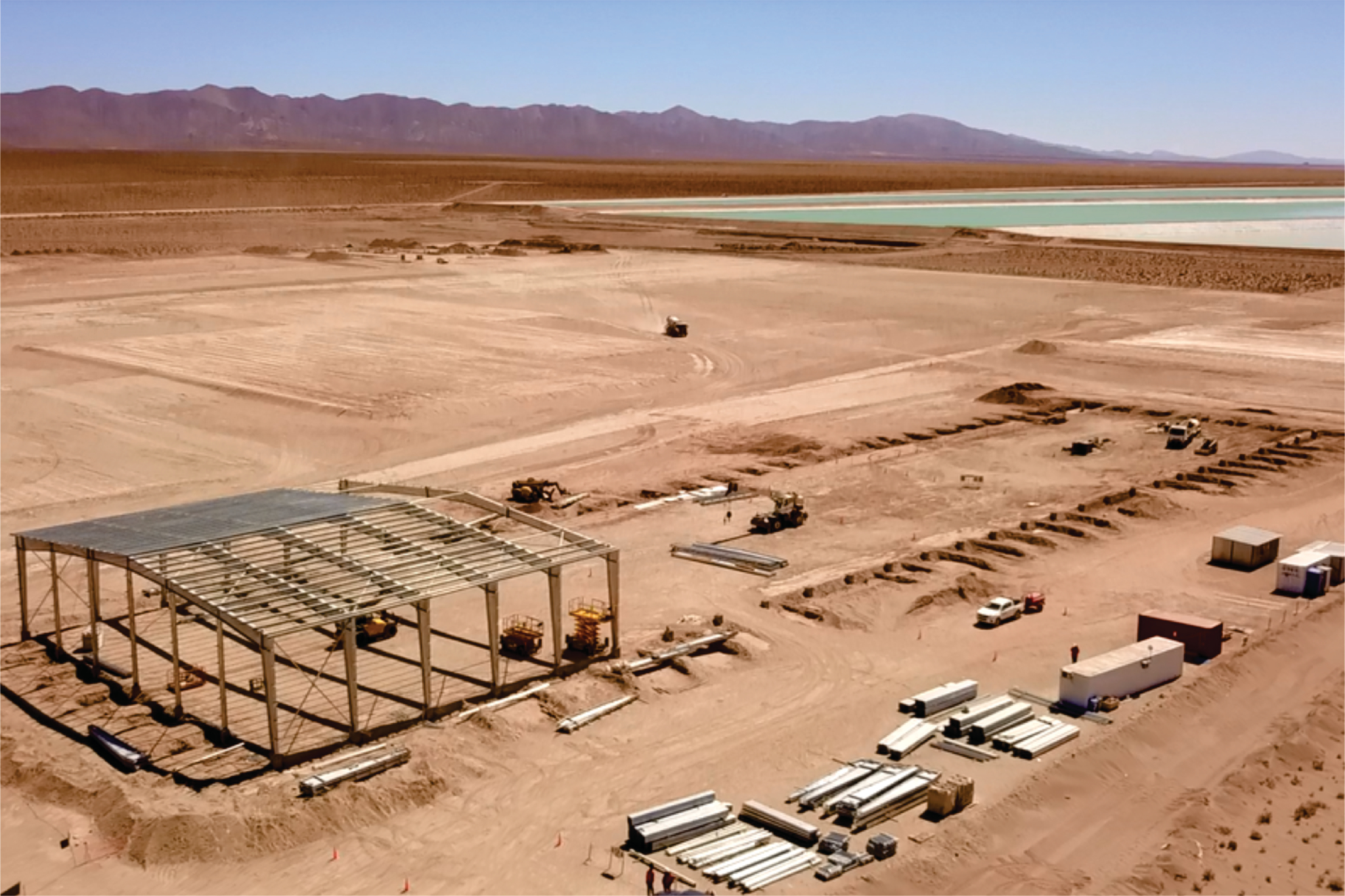 Construction underway in Argentina